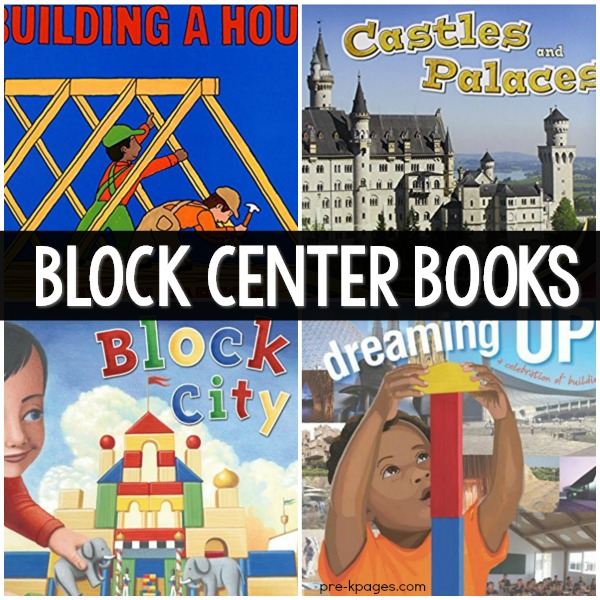 Block Center Book List for Preschool