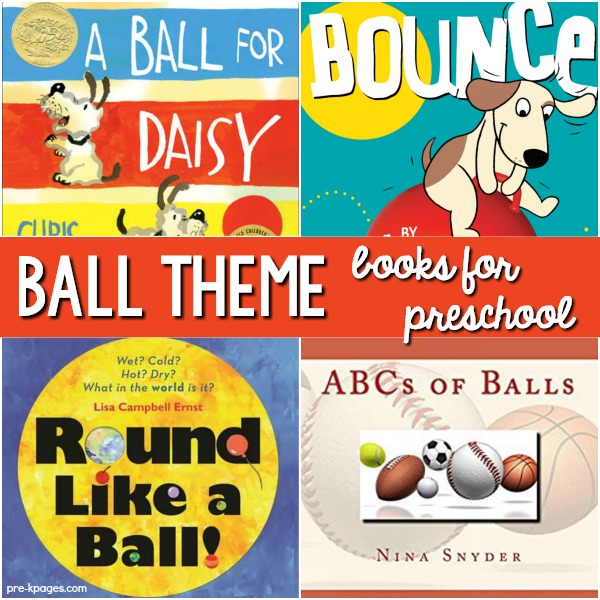 Books About Balls for Preschool Study