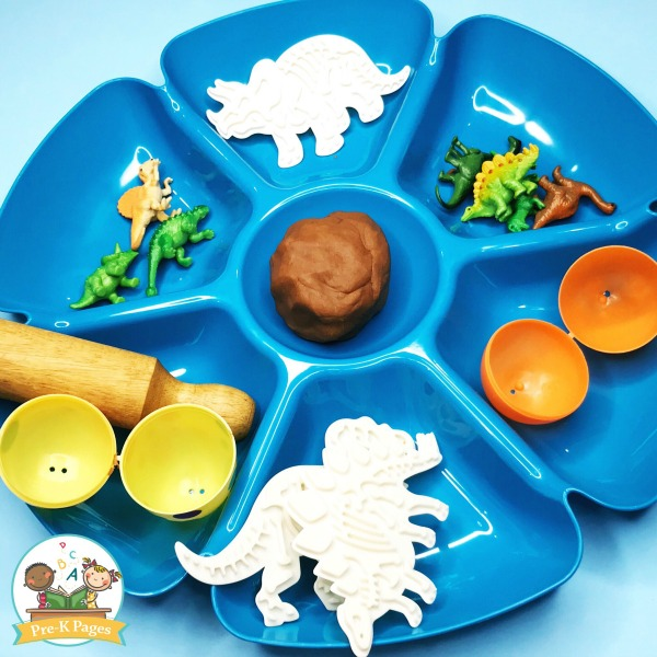 Chip and Dip Tray for Play Dough