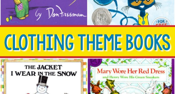 Clothing Theme Books for Preschool