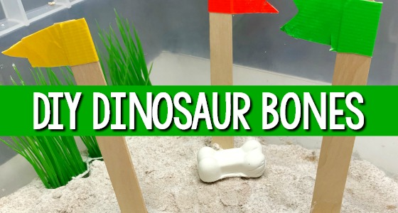 DIY Dinosaur Bones Tutorial