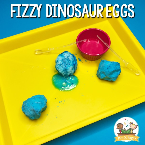 Fizzy Dinosaur Egg Experiment