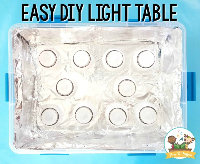 How to Make a Light Table for Kids