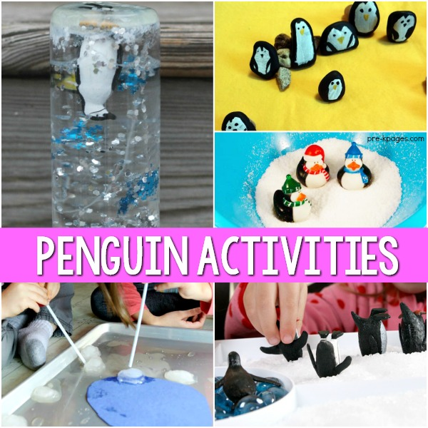 Penguin Activities for Preschool