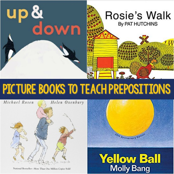 Picture Books to Teach Prepositions in Preschool