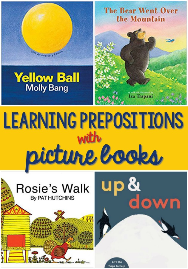 Picture Books to Teach Prepositions