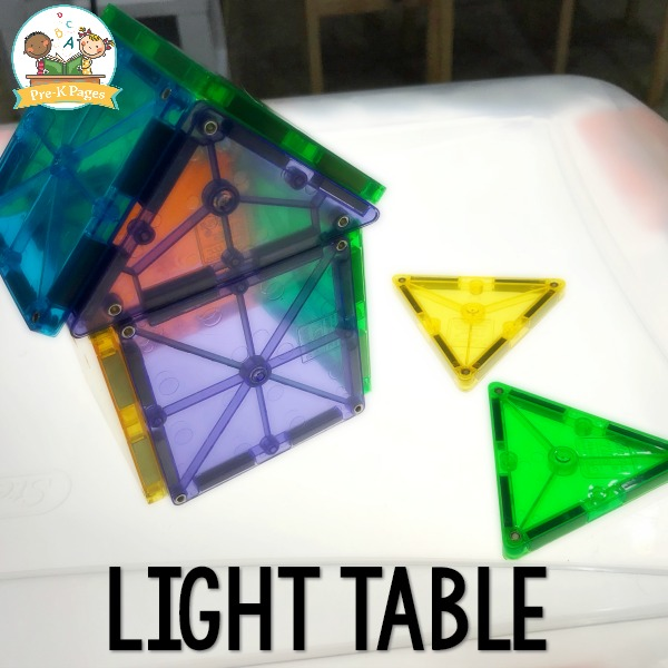 Preschool Light Table