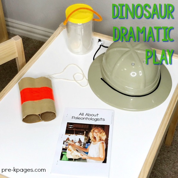 Dinosaur Dig Site Dramatic Play