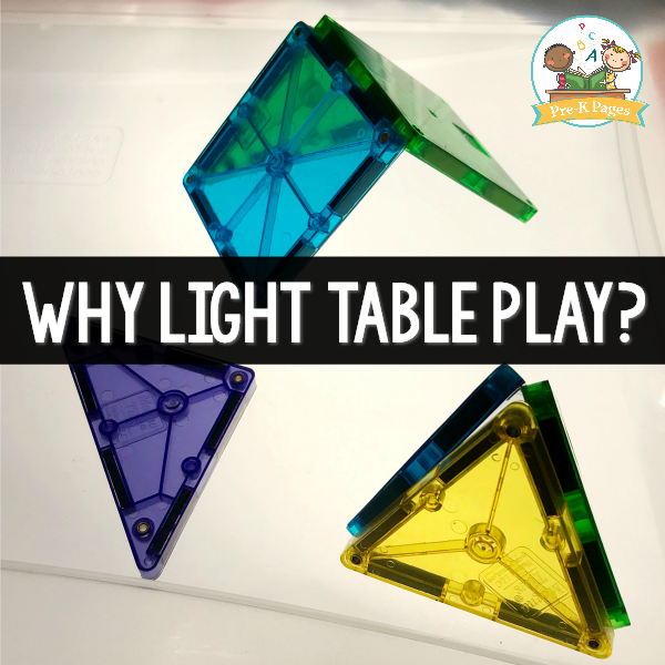 What are the benefits of light tables