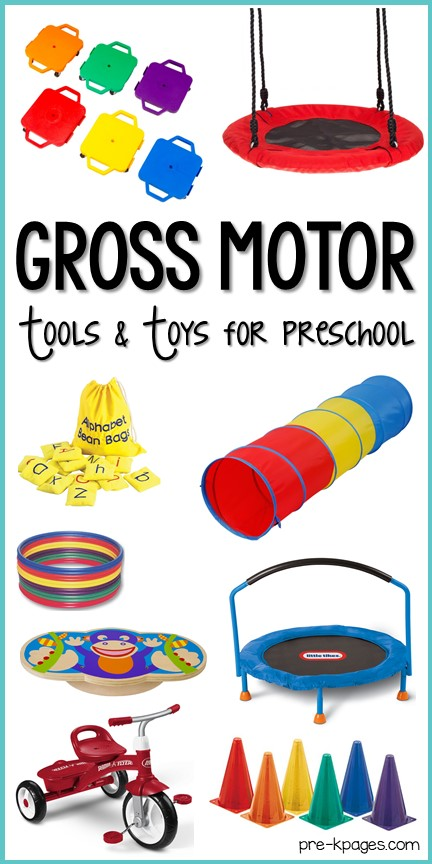 Best Gross Motor Tools and Toys for Preschool