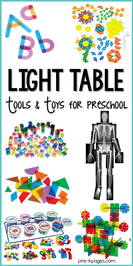 Best Light Table Tools and Toys for Preschool