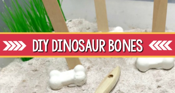DIY Dinosaur Bones For Kids Activity