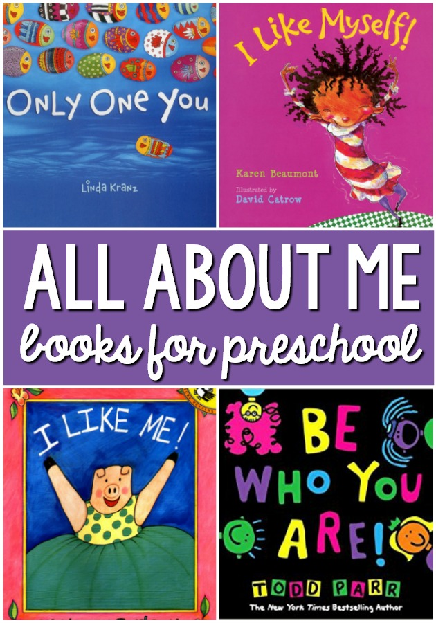 All About Me Books for Preschool