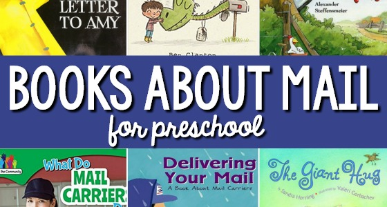 Books About the Post Office and Mail - Pre-K Pages