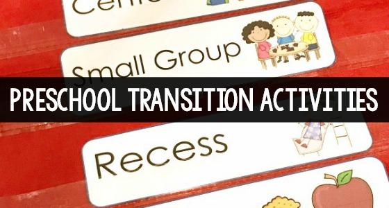 Preschool Transition Activities