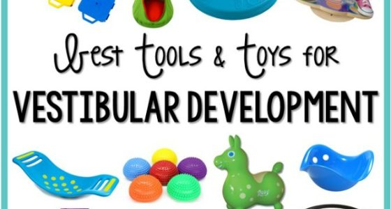 Vestibular System Tools and Toys for Preschool