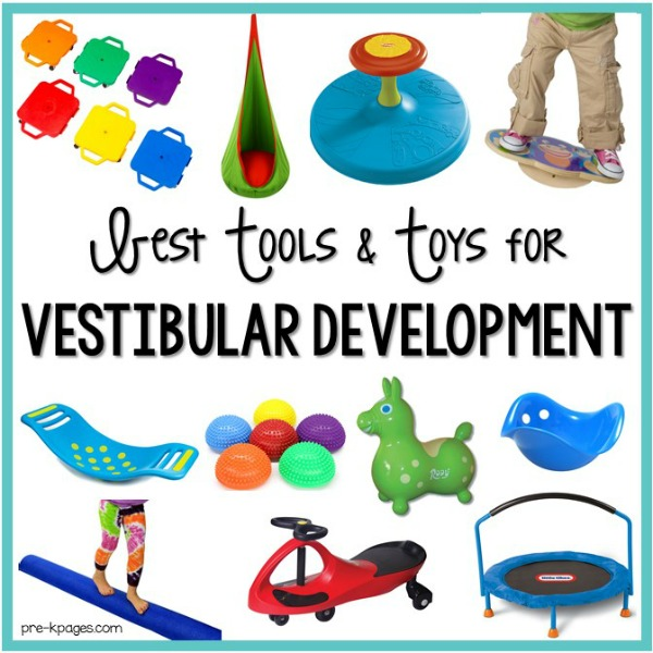 Sensory Tools and Toys for Vestibular Development in Preschool