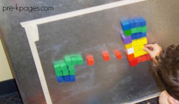 sticky paper block designs pre-k