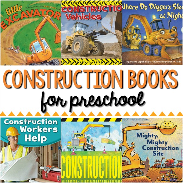 Books About Construction for Preschool