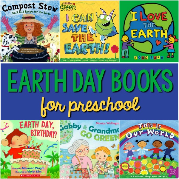 Books About Earth Day for Preschool
