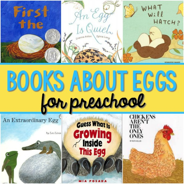 Books About Eggs for Preschoolers