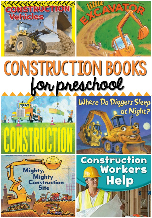 Construction Books for Preschool