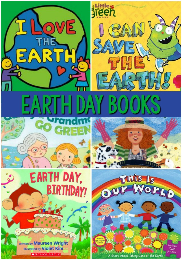 Earth Day Books for Preschool