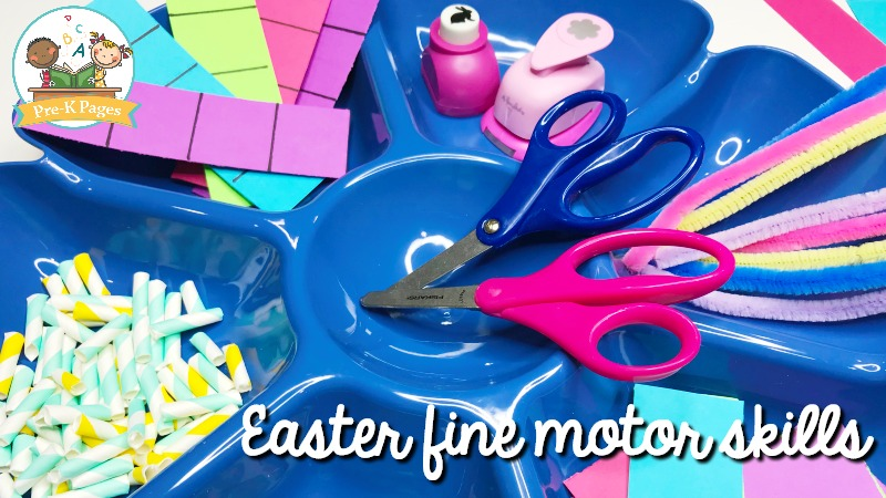 Easter Fine Motor Activities for Preschool