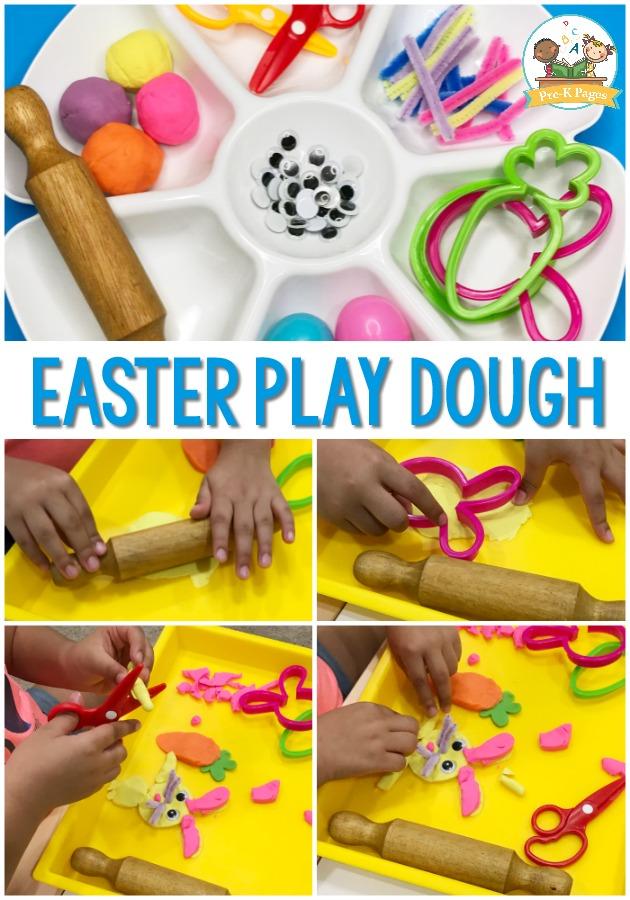 Easter Playdough Invitation