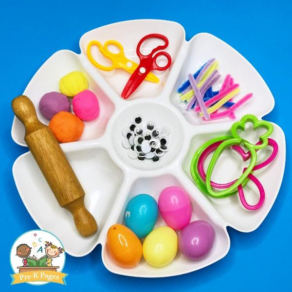 Easter Playdough Activity