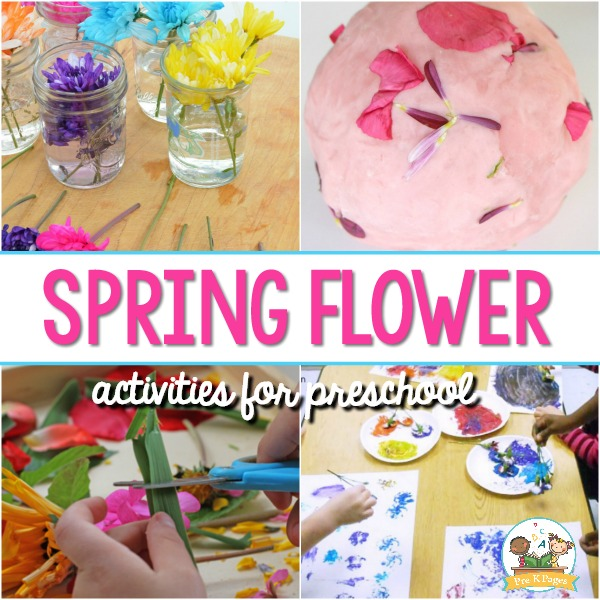 Flower Activities for Preschool Kids