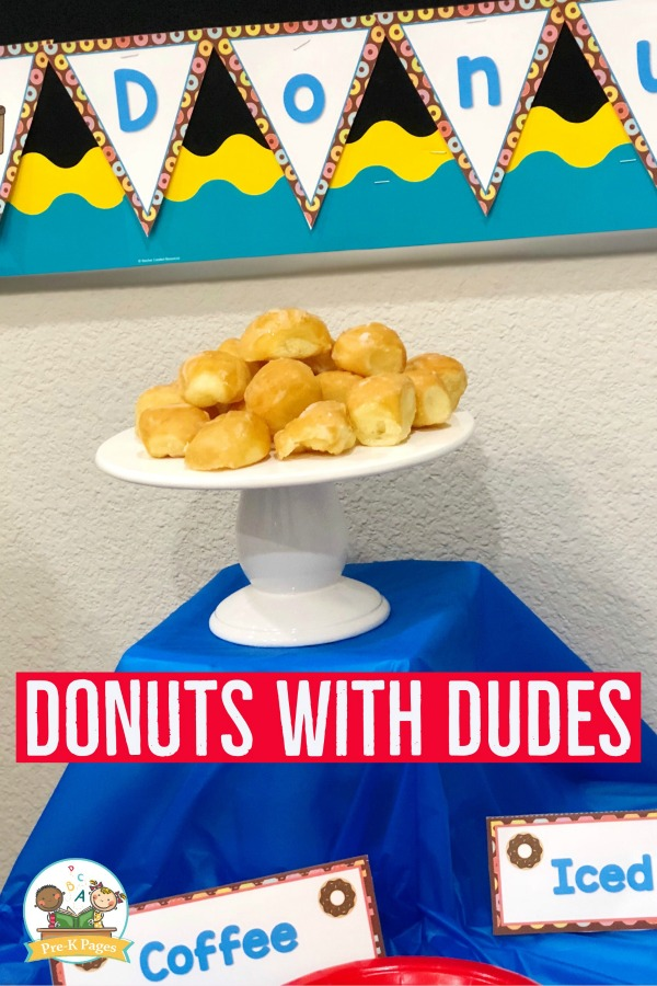 How to Host a Donuts with Dad Event in Preschool