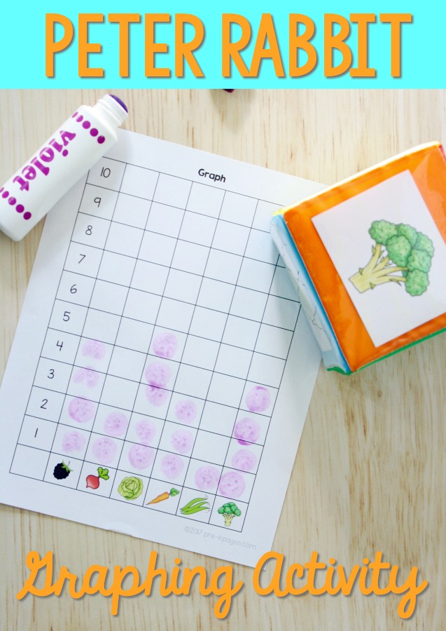 Peter Rabbit Graphing Activity
