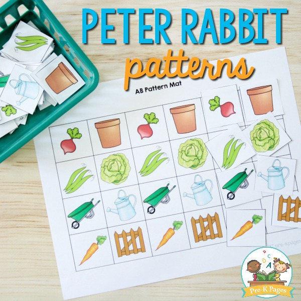 Peter Rabbit Pattern Activity