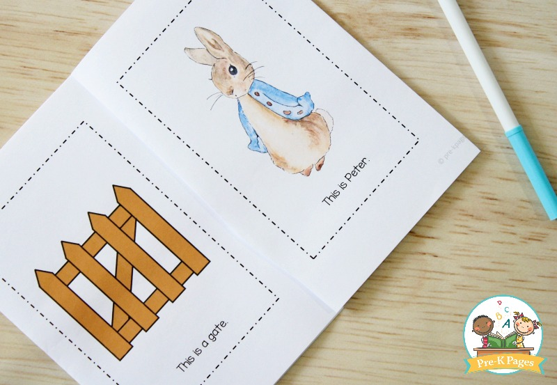 Peter Rabbit Printable Emergent Reader
