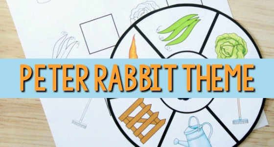 Peter Rabbit Activities for Preschool