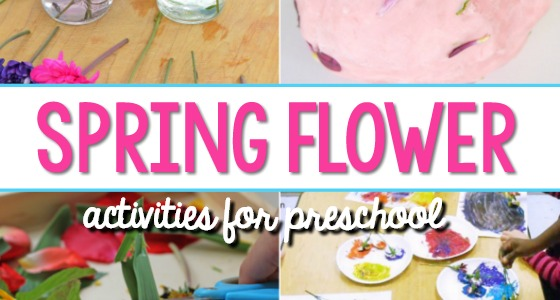 Spring Flower Activities for Preschool