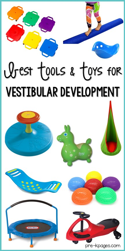 Best Vestibular Tools and Toys for Preschool