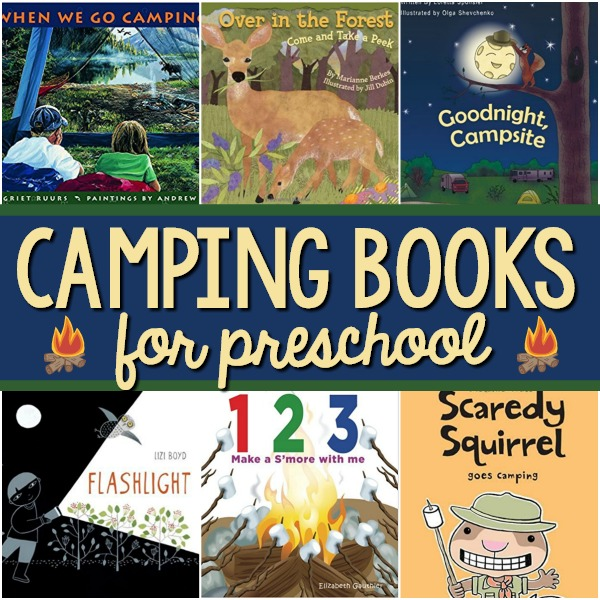 Camping Books for Preschool