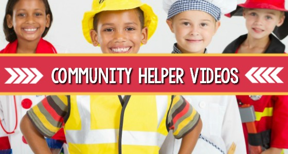Community Helper Videos for Preschool