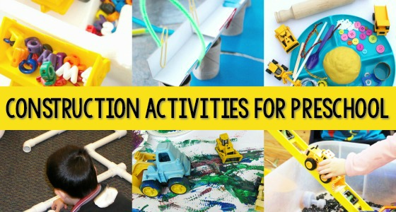 Construction Activities For Preschool Pre K Pages