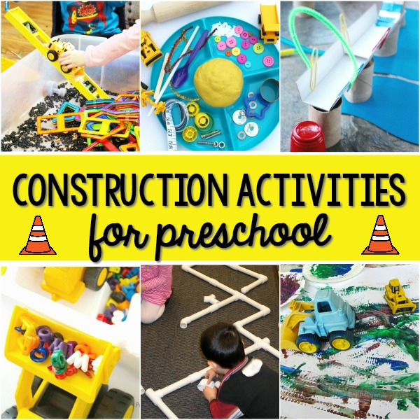 Construction Theme Activities for Preschool