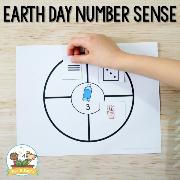 Earth Day Number Sense Game