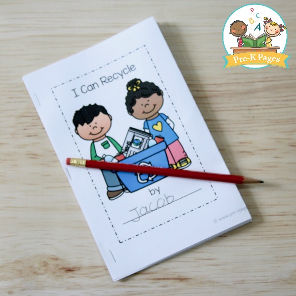 Earth Day Printable Emergent Reader