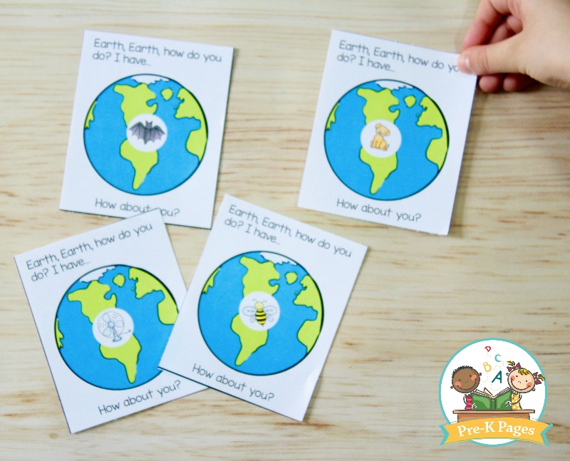 Earth Day Rhyming Game