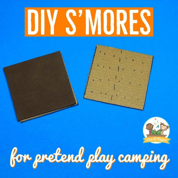 Smores for Camping Dramatic Play theme