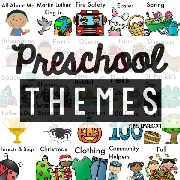 Themes Pre K Pages