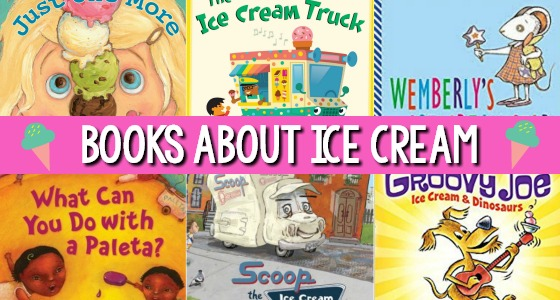 Books About Ice Cream for Preschoolers