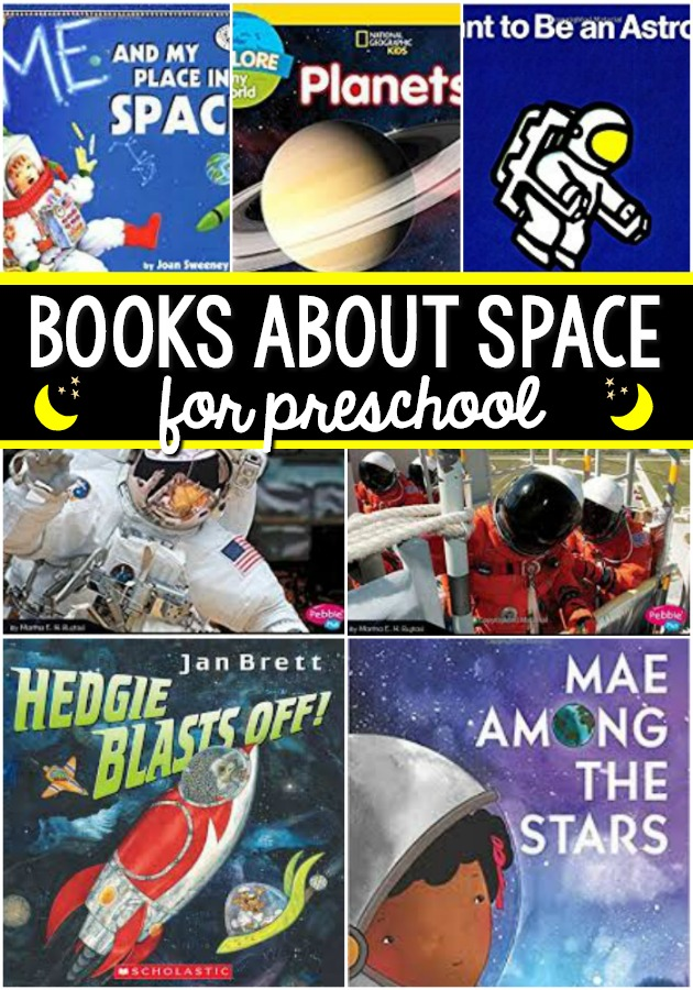 Books About Space for Preschool
