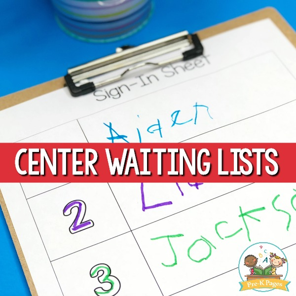 Center Waiting Lists
